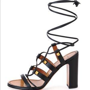 NEW Valentino Rockstud lace up sandals